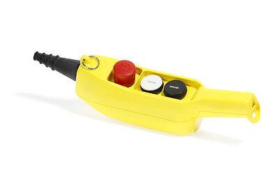 Handbedienteil ohne Kab für Motorwinde TEA HE 200 MB-Bungee Trampolin Anlage NEU