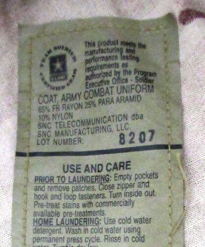Kampfhemd//bluse Multicam US Coat ARMY COMBAT Uniform