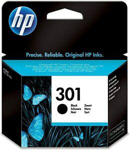 Cartouche Encre Noir HP 301 Authentique HP Deskjet - Envy - OfficeJet