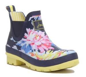 Joules Floral Rubber 3 Navy Wellibob Boots 8 Vk Whitstable Women Maat OqrAwO
