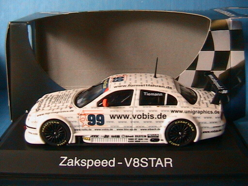 JAGUAR S-TYPE  99 V8 STAR SERIES ZAKSPEED VOBIS TIEMANN 2001 SCHUCO 04824 1 43