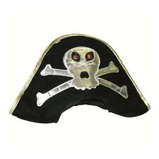 Peterkin Kids Pirate Hat Fancy Dress With Skull and Crossbones *new*