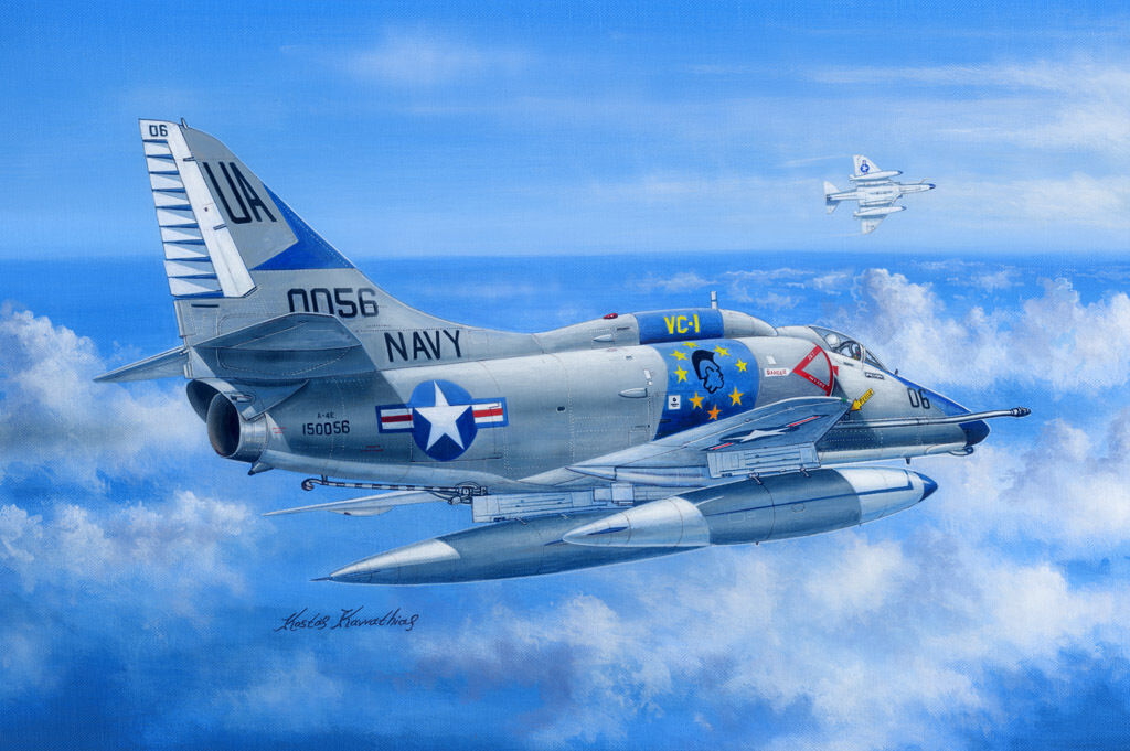A-4E Sky Hawk 1 48 Hobby Boss