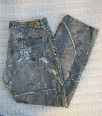 Levi Strauss Field Gear 1620 Tree Camouflage Mid Rise Women Pants Jeans Sz 16m Ebay