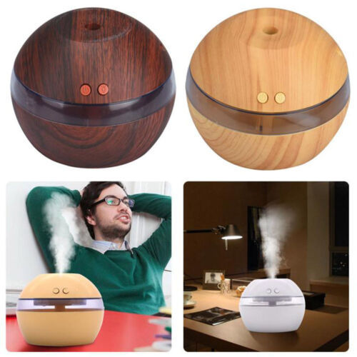 Hot LED Ultrasonic Aroma Humidifier Essential Oil Diffuser Aromatherapy Purifier