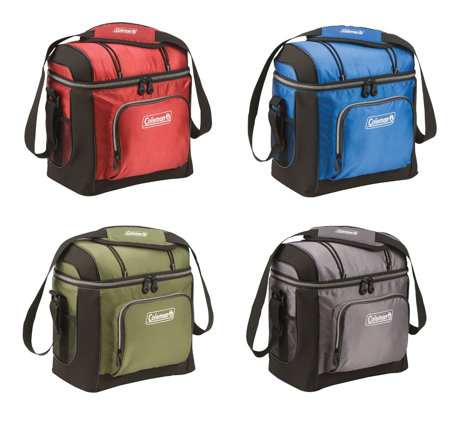Coleman 16 Can Soft Cooler With Hard Liner ~ Coleman can soft coolers with hard liners colors ebay