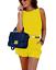 tuta-elegante-pantaloni-lunghi-jumpsuit-corto-abito-cerimonia-da-donna miniatura 5