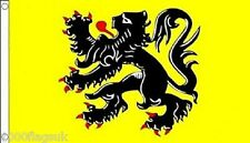 Belgium Flanders Region 5'x3' Flag
