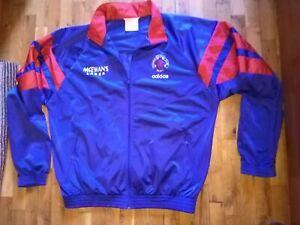 Glasgow Rangers Adidas 1992-1994 Trascksuit Track Jacket Top blue size 42/44 XL