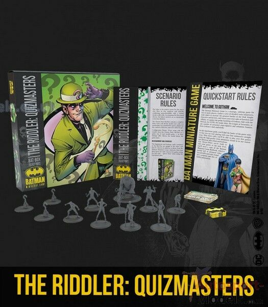 The Riddler   Quizmasters  35mm Batman Miniatures Game by Knight Models