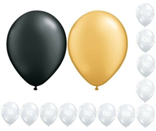 Large Choice of Colours /& Ages Birthday Party Helium Balloon Cluster DIY Kit