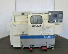 Okuma Cadet Lnc 8 Big Bore 2 Axis Cnc Lathe Id L 073