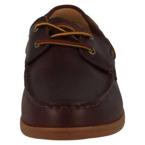 Cuero Náuticos Hombre Morven Zapatos Clarks Sail RU8qFwYx