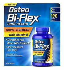 Osteo Bi-Flex Triple Strength W Vitamin D 190 Ct Maintain Flexibility & Agility