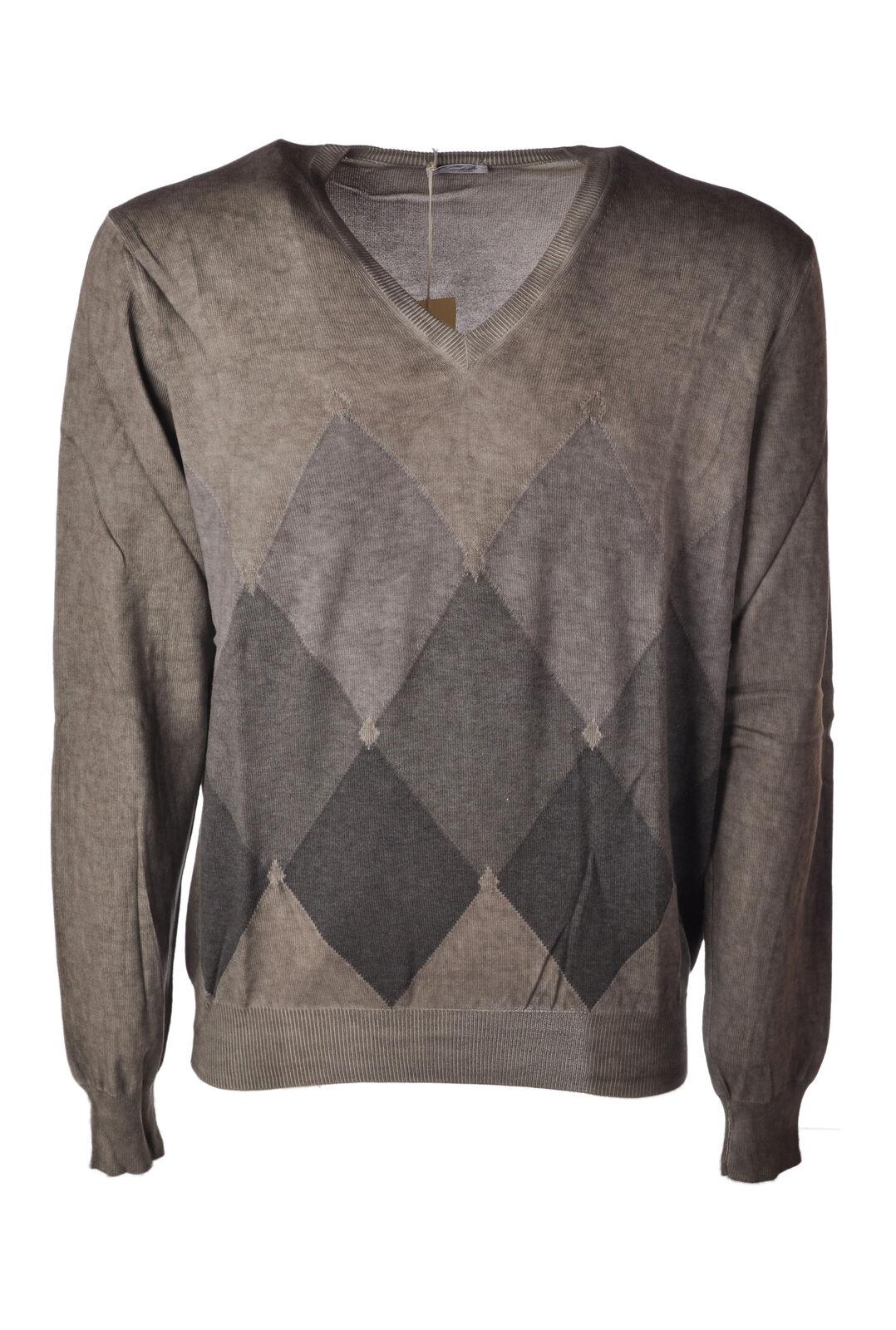 Viadeste  -  Sweaters - Male - Grey - 4667221A185837