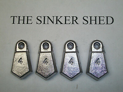 quantity of 6//12//25//50//100 FREE SHIPPIN decoy weight 8 oz river coin sinkers