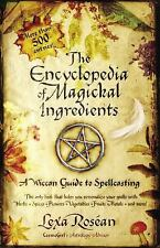 THE ENCYCLOPEDIA OF MAGICKAL INGREDIENTS - NEW PAPERBACK BOOK