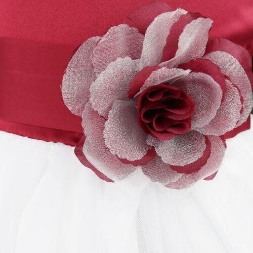 Flower Girls Dress Birthday Wedding Bridesmaid Formal Pageant Recital Graduation