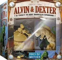 Alvin And Dexter: A Ticket To Ride Monster Expansion , New, Free Shipping on Sale