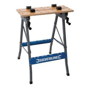 Superb Details Zu Heavy Duty Foldable Workbench Portable Bench Work Clamping Workmate Diy Pabps2019 Chair Design Images Pabps2019Com