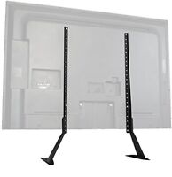 Vivo Universal Lcd Flat Screen Tv Table Top Stand / Base Mount Fits 27 To 55