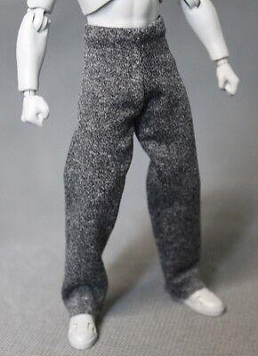 """Figma 1//12 Black Pants for 6/"""" SHF NOX-BPT Slim Marvel Legends"""