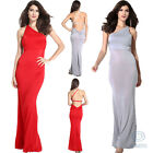 Sexy One Shoulder Maxi Long Dress Slim Prom Formal Cocktail Party Evening Gown