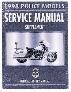 1998 harley flhpi police electra glide service repair manual rh ebay com 2000 FLHPI FLHPI 2009