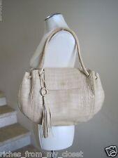 NANCY GONZALEZ Crocodile Shoulder Bag Handbag