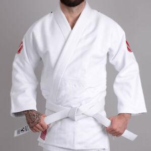 Valor-Sento-750-Judo-Suit-White-FREE-Drawstring-Bag-FREE-Delivery