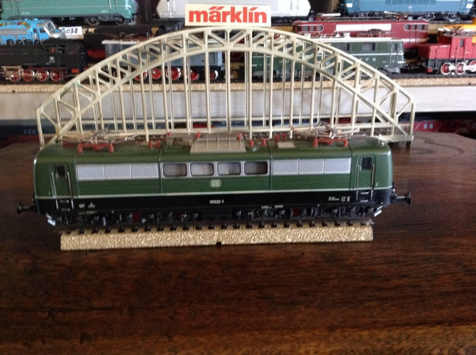 Marklin 3057 ho - db 151022-1 loco 6x6 made in germany