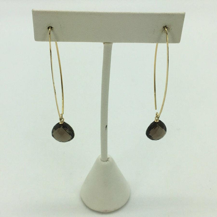 Nabco 14K Gemstone Drop Earrings