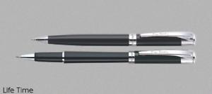 Pierre Cardin Casablanca Ballpoint Pen CT Chrome Trim Smooth Writing