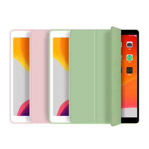 """Apple iPad Leather Smart Stand Case Cover For 10.2"""" 7th/8th Gen, mini 1,2,3,4,5"""