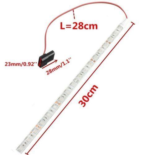 2X18 LED 30cm 5050 Lichterkette Lichtleiste Strip Streifen Band für PC Computer