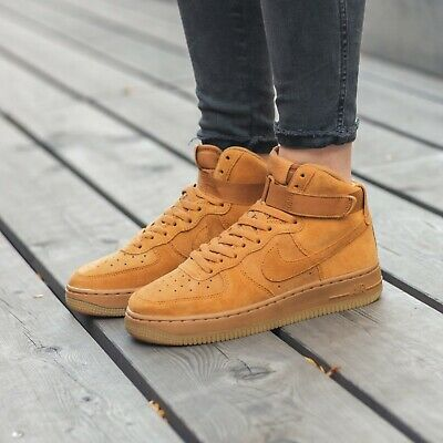NIKE AIR FORCE 1 High LV8 AF1 ~ 807617 300 ~ Youth Size 5