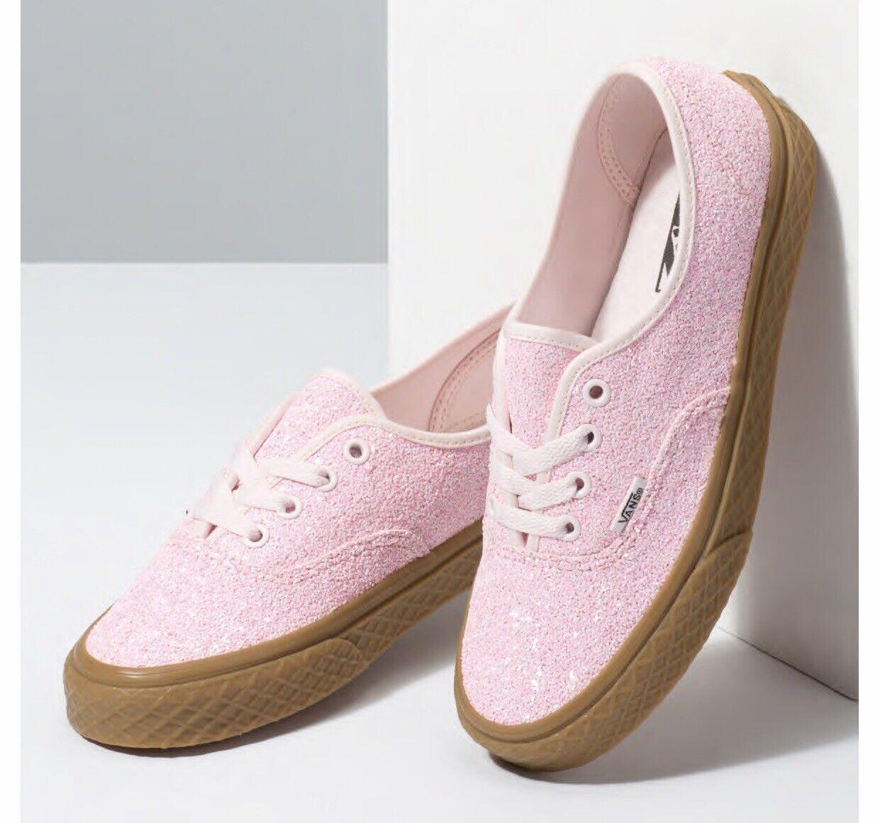 VANS Girls Authentic Glitter Ice Cream