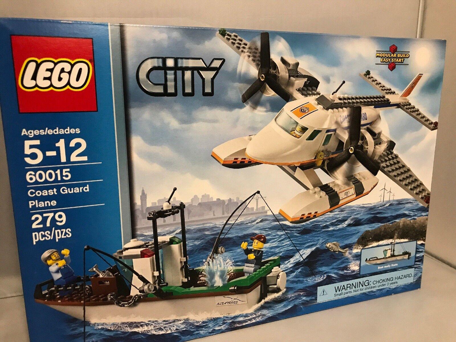 Lego City Coast Guard Plane PCS.