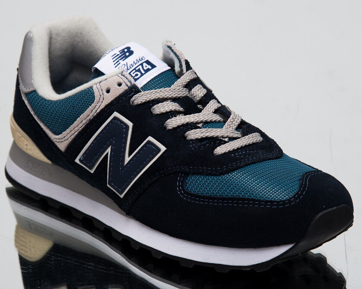 New Balance 574 Men's New Dark Navy bluee Casual Lifestyle Sneakers ML574-ESS