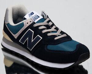 new balance 574 azul marino hombre