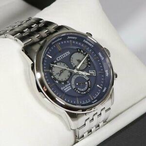 Citizen Eco-Drive Perpetual Calendar Blue Dial Men's Watch BL8150-86L