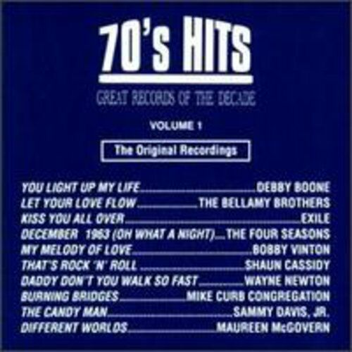 Various Artists - 70's Pop Hits 1 / Various [New CD] Manufactured On Demand
