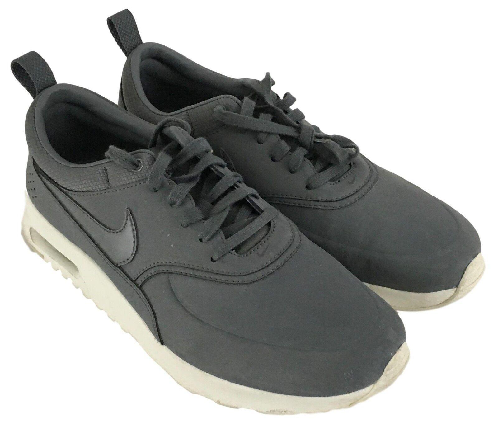 41488f81d2 50% off nike air max thea zapatos hombre gris pizarra zapatillas zapatos  thea cómodo casual