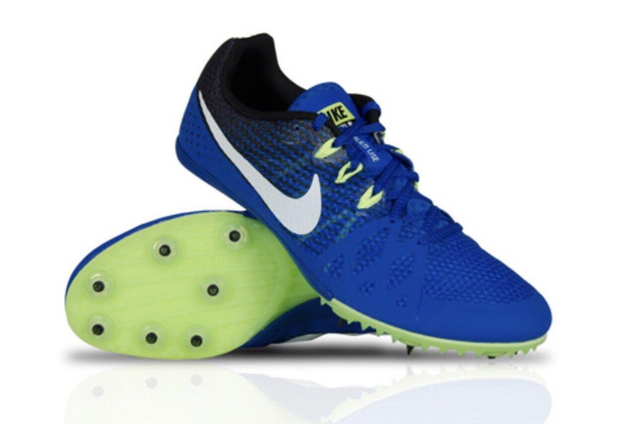 Nike - rivale m 8 männer verfolgen spikes multi schwarz - use - schuhe (blau - schwarz multi neue laufen fb5d3b