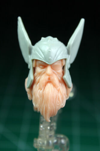 Custom Resin Old King Head Cast for 6in figure 1:12 Odinson Thor