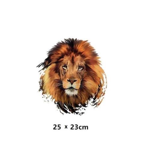 A143...MAGNIFICENT LION IRON-ON HEAT TRANSFER//APPLIQUE