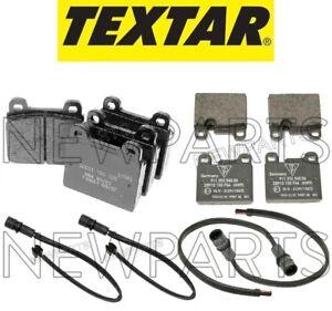 For Porsche 911 Carrera 4 GTS Front /& Rear Brake Pad Set /& Sensors Stoptech