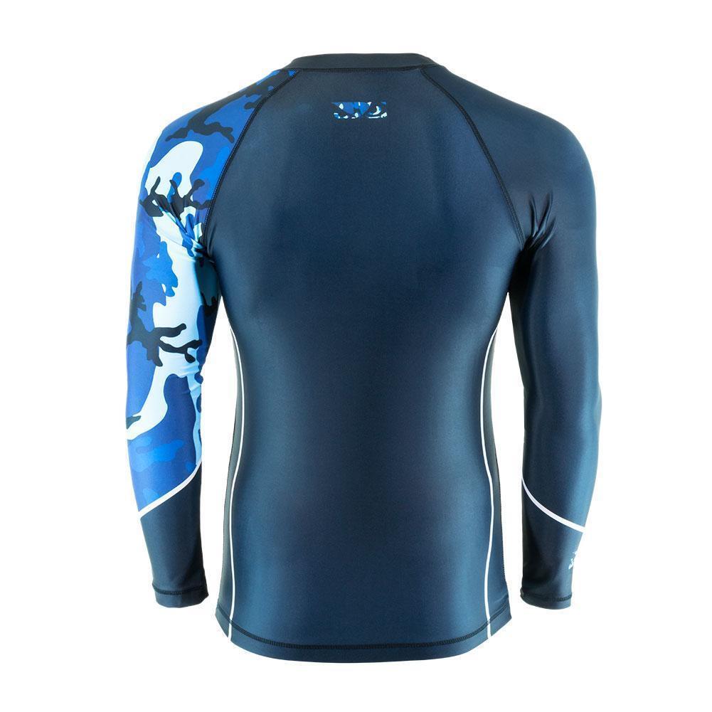Bad Boy Mma Soldado Bosque Azul Camuflaje Camiseta de Neopreno Neopreno Neopreno Entreno Gimnasio 6cb610
