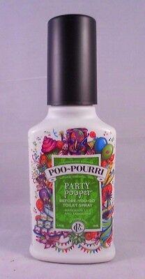 Poo-Pourri Before-You-Go Essential Oil Bathroom Spray - Party Pooper - 4 oz.