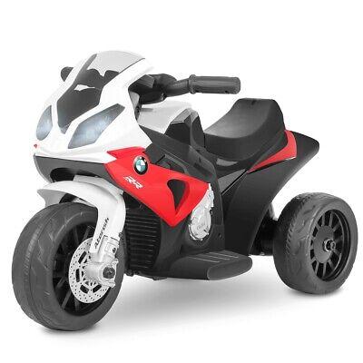 Moto electrica niños BMW oficial 6V recargable triciclo +18 meses -Playkin